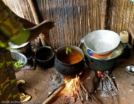 A kitchen in Africa