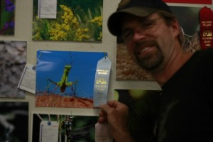 My cute hubby and his mantis