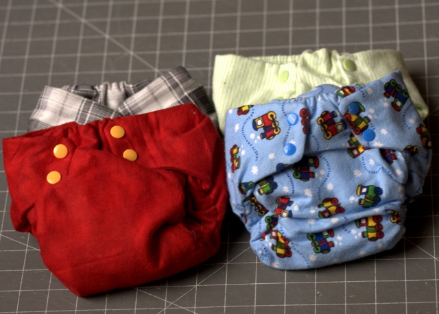 New diapers for a growing baby