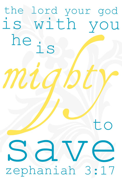 Mighty to save (click to see printable)