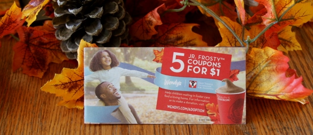 Wendy's coupon books are here!
