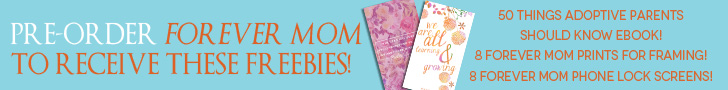 Freebies if you order Forever Mom by Nov 4th